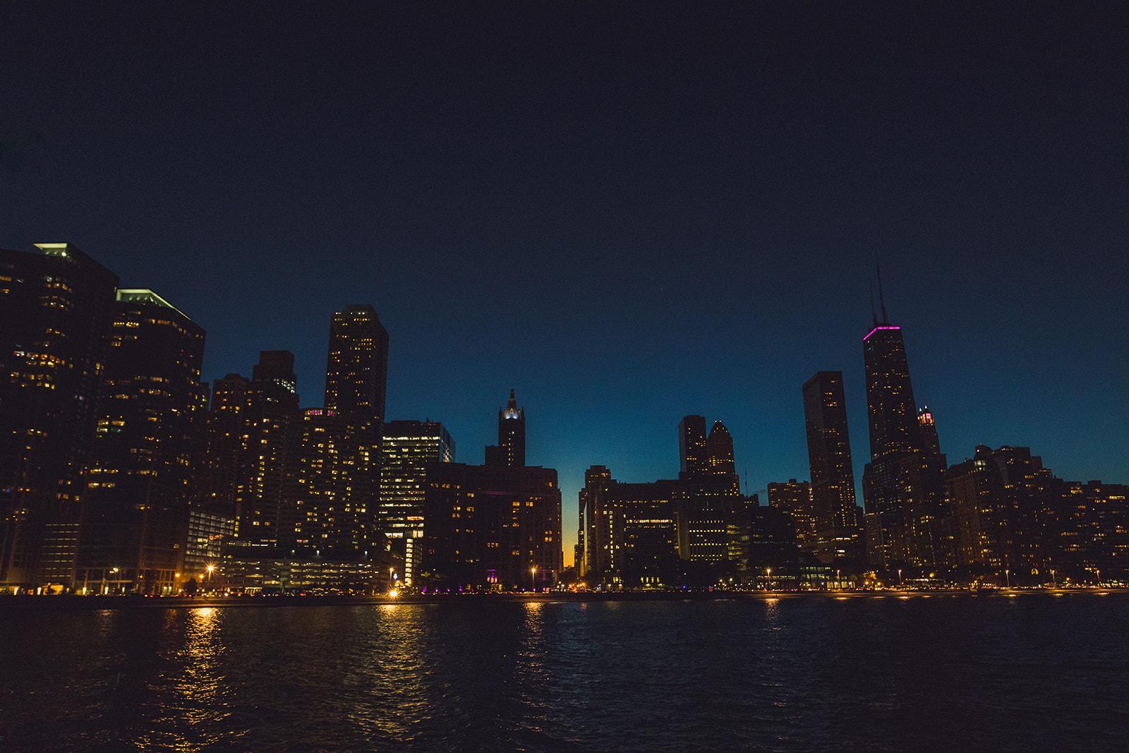 Epic Chicago Skyline Photo