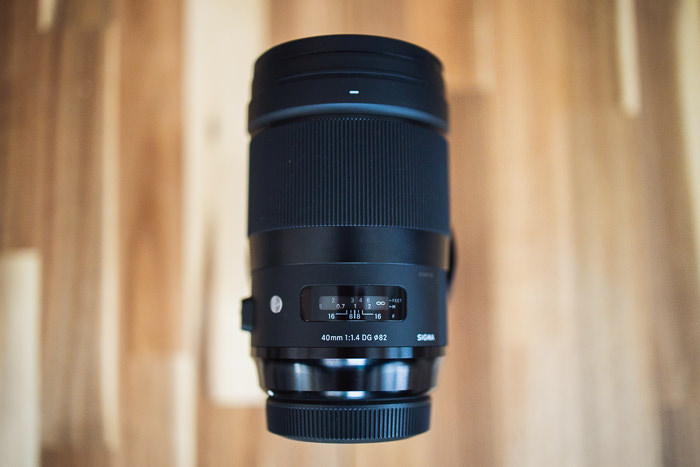 Sigma 40 mm Art Review