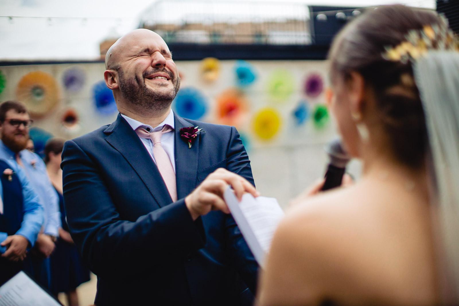 Ignite Glass Studio Wedding Photo