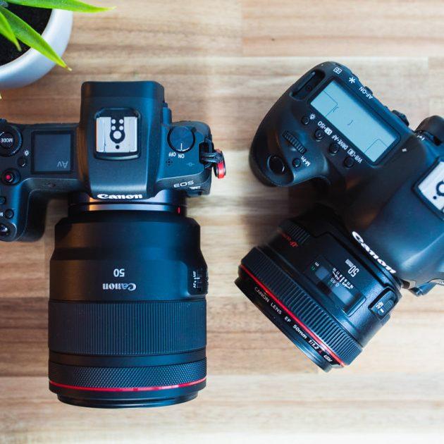 Canon EOS R Vs. Canon 5D Mk IV