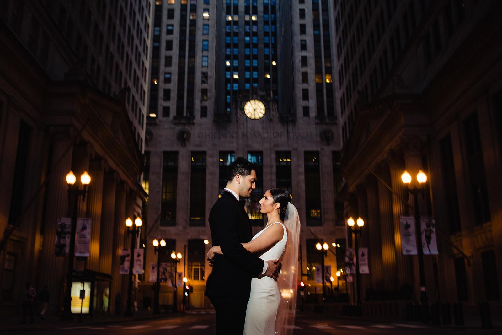 Madonna Della Strada Chapel, Loyola University and theWit Hotel wedding